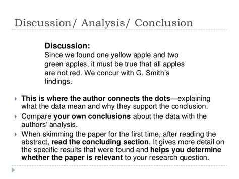 conclusion section research paper discussion and conclusion