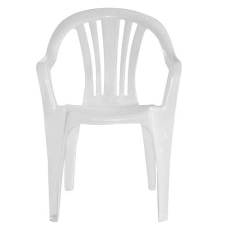 sillas plastico silla de pl 225 stico blanca natal 0 garden