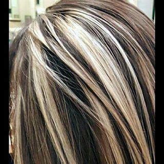 foil hair colors with blondies instagram analytics chunky blonde highlights dark brown