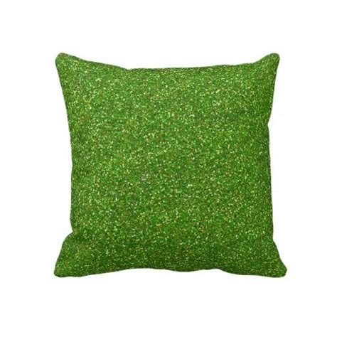 bright green pillows glitter bold bright green sparkle stylish faux throw