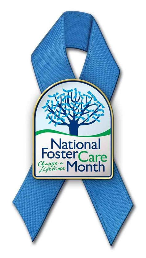 foster care may is national foster care month its not a its a pin