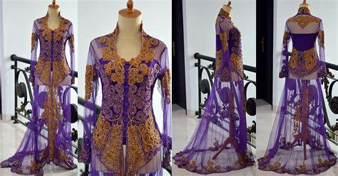 Kebaya Pengantin Ekor Batik Muslim Modern jual kebaya pengantin ekor nikah pre wedding tile brokat