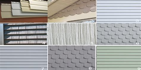 house siding types types of siding for houses vinyl siding resource