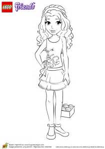 47 dessins coloriage lego friends 224 imprimer