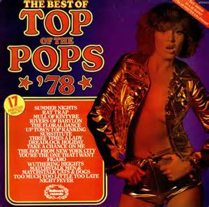 top of the l top of the pops the best of top of the pops 78 poster