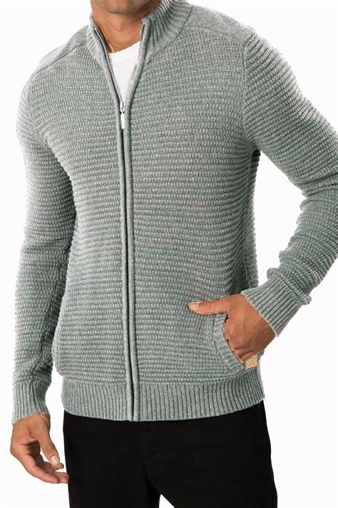 knitting pattern mens zip cardigan threadbare mens knitted cardigan vancouver waffle knit