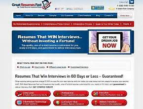 great resumes fast reviews great resumes fast review