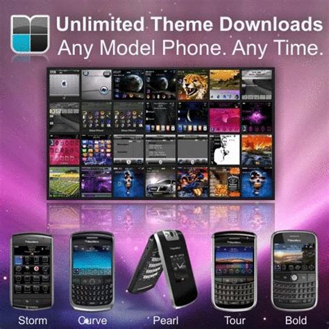 themes unlimited access unlimited premium blackberry themes for only 10