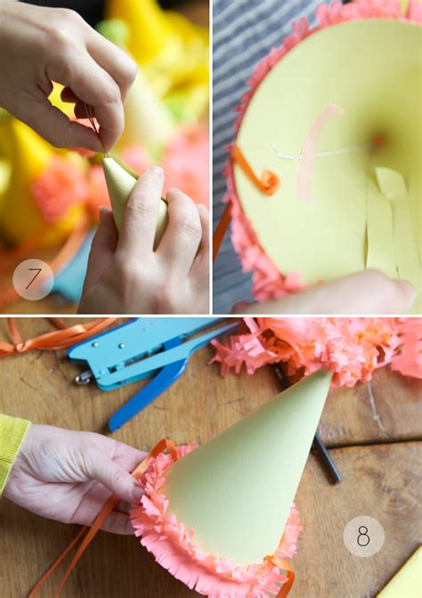 How To Make A Birthday Hat Out Of Paper - hats diy template