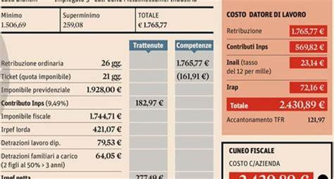 proposte letta su pensioni stipendi ecco quanto costano al dipendente e al datore