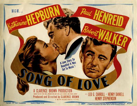 film love song katharine hepburn in a pair of stinkers the claude rains
