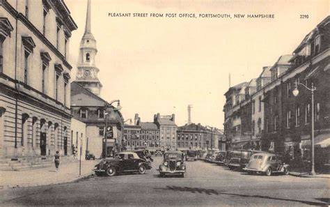 Portsmouth Nh Post Office by Portsmouth New Hshire Pleasant Antique