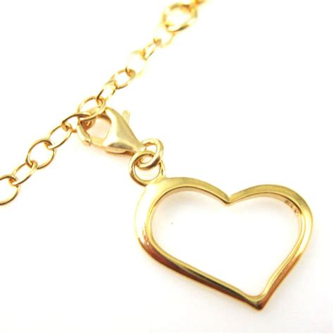 22k gold plated sterling silver classic charm