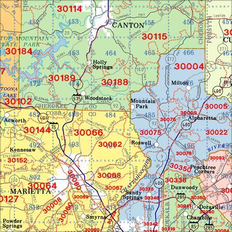 zip code map cobb county zip code map atlanta my blog