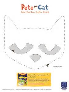 pete the cat printable template five ideas for decorating pumpkins with preschoolers