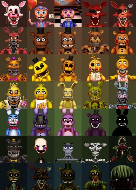 the 25 best fnaf characters ideas on fnaf