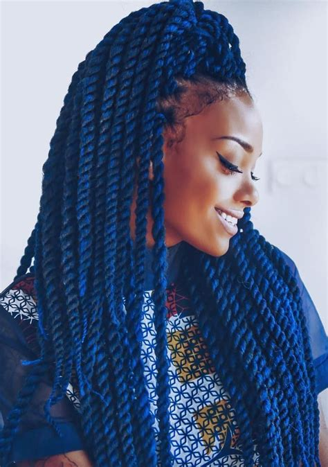 dark blue marley hair black and blue box braids www pixshark com images