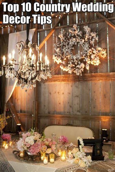 wedding decor ideas country diy cozy home