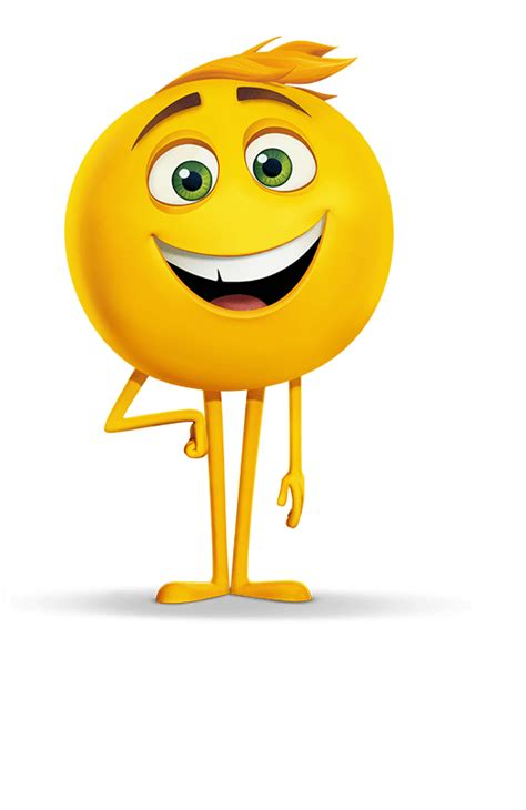 emoji movie characters gene emoji movie character transparent png stickpng