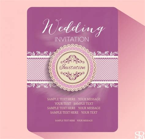 template wedding invitation card free wedding card design template free product receipt