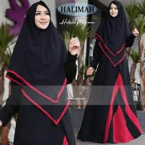 Gamis Syar I Halimah by Baju Gamis Misbee Halimah Syari Busana Muslim Modern