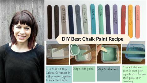 riaan diy chalk paint diy best chalk paint recipe tutorial budget saving