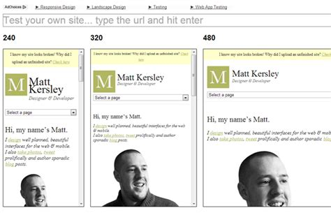 web layout testing 25 free tools for creating responsive website layouts