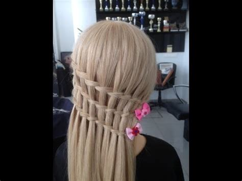 como hacer una trenza de cascada youtube como hacer triple trenza de cascada 2018 how to do