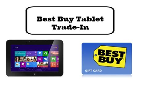 Best Buy Gift Card Trade In - best buy deal trade in old tablet for 50 gift card southern savers