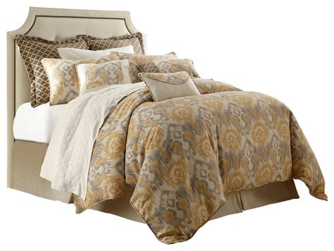 traditional comforter sets 4 piece casablanca super king bedding set traditional