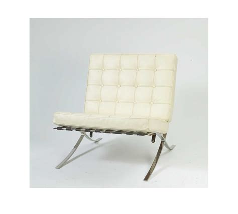 white leather armchair barcelona ivory white leather armchair