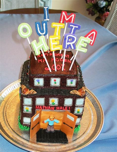 116 best images about retirement cakes cupcakes on