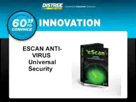 Anti Virus Escan 60 seconds to convince escan anti virus