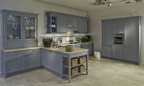 Custom Cabinets Kitchen by Duck Egg Blue Shaker Kitchen Style