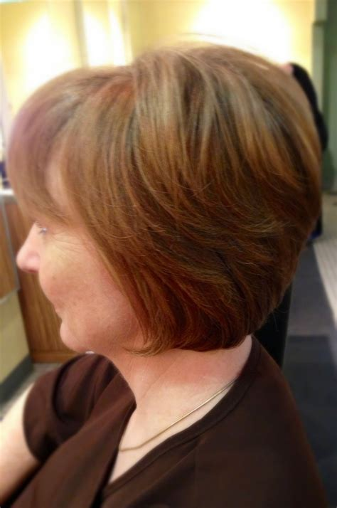 modified shaggy bob hair modified bob with graduated layers short hairstyle 2013