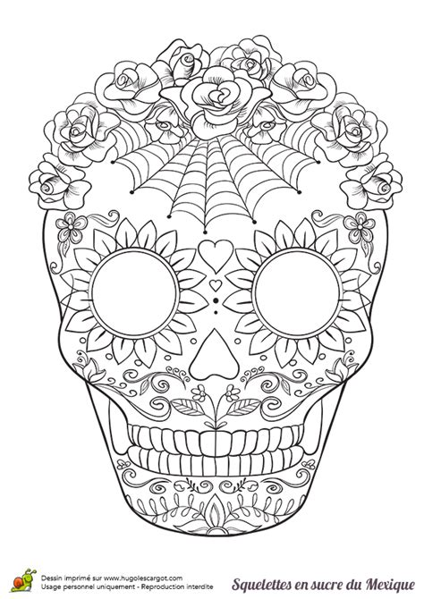 sugar skull coloring pages pdf free sugar skull coloring page coloring home