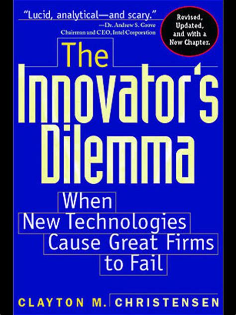 Most Used Textbook Mba by The Innovator S Dilemma 1997 By Clayton Christensen