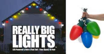 big lights size matters even to santa this really big