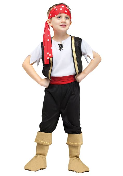 toddler ship ahoy pirate costume