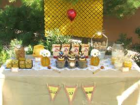 winnie the pooh baby shower ideas food favors