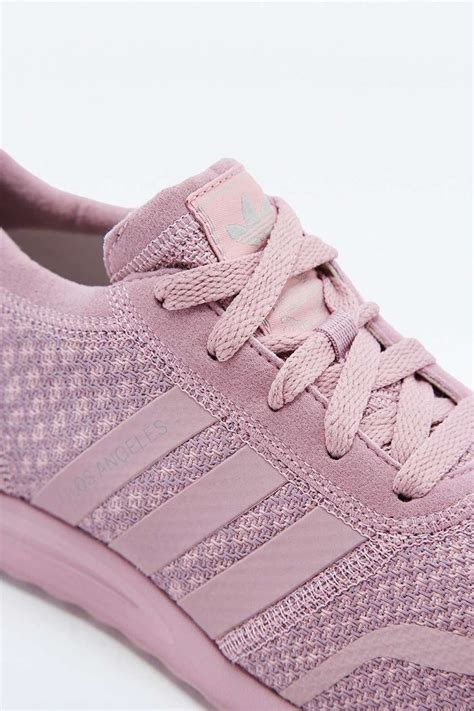 adidas originals los angeles blush pink trainers outfitters summer pastels
