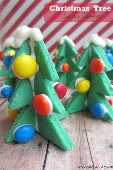 christmas 3d cookies 3d tree sugar cookies baby laundry