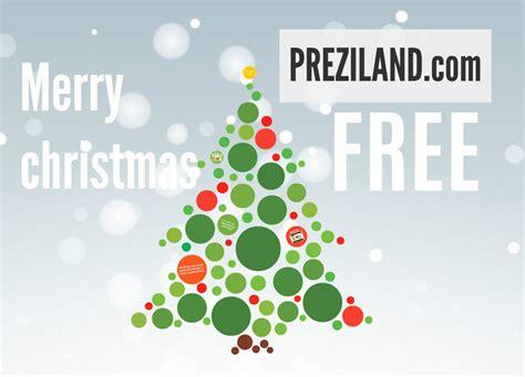 Merry Christmas Free Prezi Template Preziland Merry Templates
