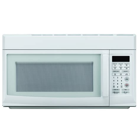 built in microwave with exhaust fan 1 6 cu ft over the range microwave oven microwaves