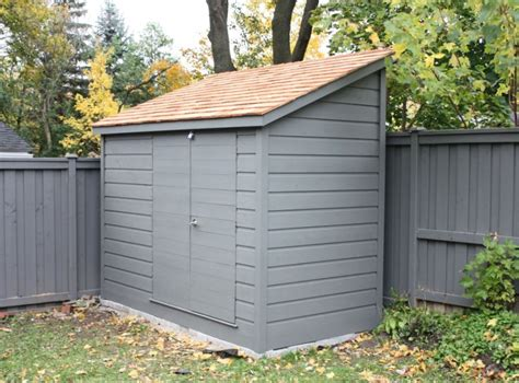 Narrow Garden Sheds by Leaning Shed Fence Shed Small Backyard Shed Narrow Shed Gardening Backyards