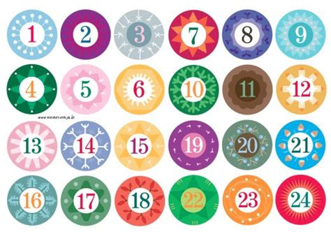 printable number labels 7 best images of christmas printable number stickers