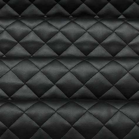 Leather Quilted by Quilted Leather Padded Cushion Faux Leather