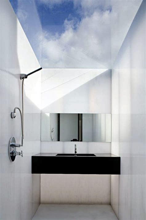 bathroom ceiling design ideas plastic house by firm architecture republic is a