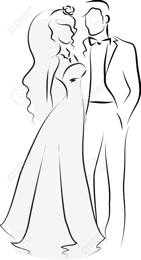 And Groom Outline Drawing by 8831 Best Images About Cricut On Vinyls Silhouette Cameo And Silhouette