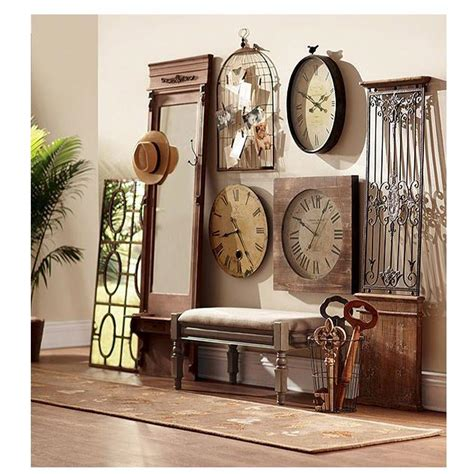 680 best vintage outdoor wall advertising art images home decorators collection baroness 71 in iron wood wall gate 0729500900 the home depot
